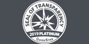 GuideStar Seal of Transparency - 2019 Platinum